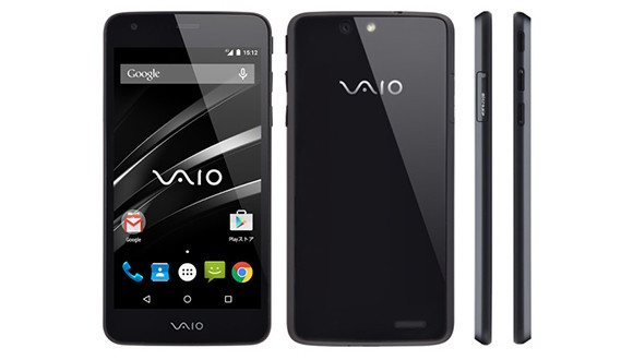 VAIO İlk Akıllı Telefonunu Tanıttı - VAIO Telefon A