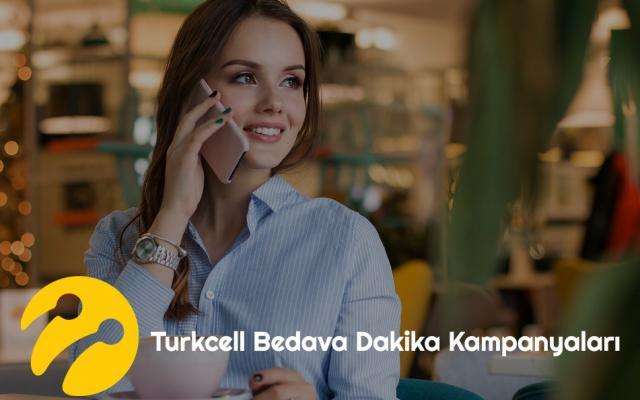 Turkcell Bedava Dakika Kampanyası 2020 (Güncel) 1
