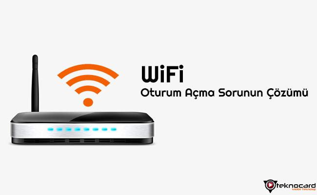 Wifi Oturum Acma Sorunun Cozumu Teknocard