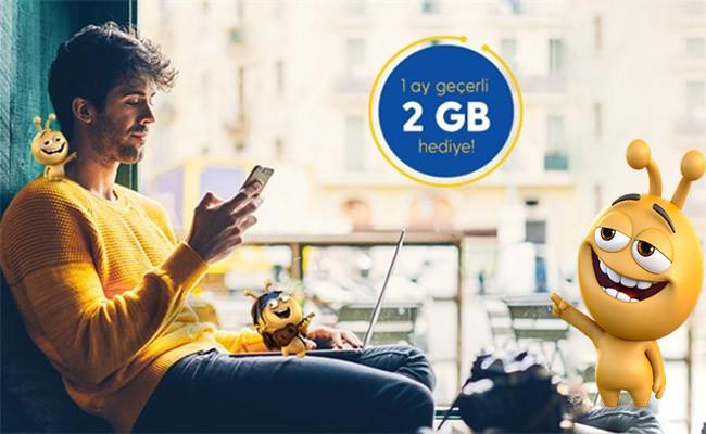 Otomatik odeme 2GB Hediye internet Turkcellden Herkese Bedava İnternet 2020