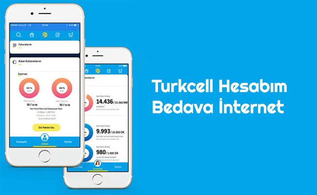 Turkcell Hesabim Bedava internet Turkcellden Herkese Bedava İnternet 2020