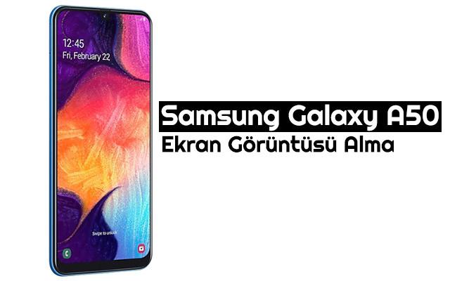 Photo of Samsung Galaxy A50 Ekran Görüntüsü Alma